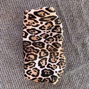 Victoria's Secret Tiger Print Makeup Bag